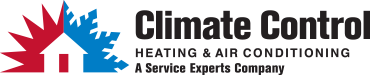 Climate Control Service Experts Heating & Air Conditioning Logo